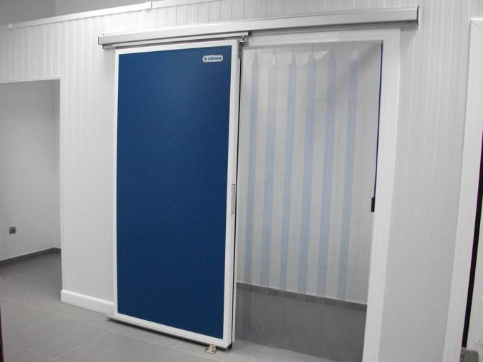 PVC strip doors for cold chamber and freezers